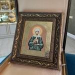 Икона в багете Св.Матрона