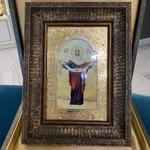 Икона в багете Покрова Пресвятой Богородицы